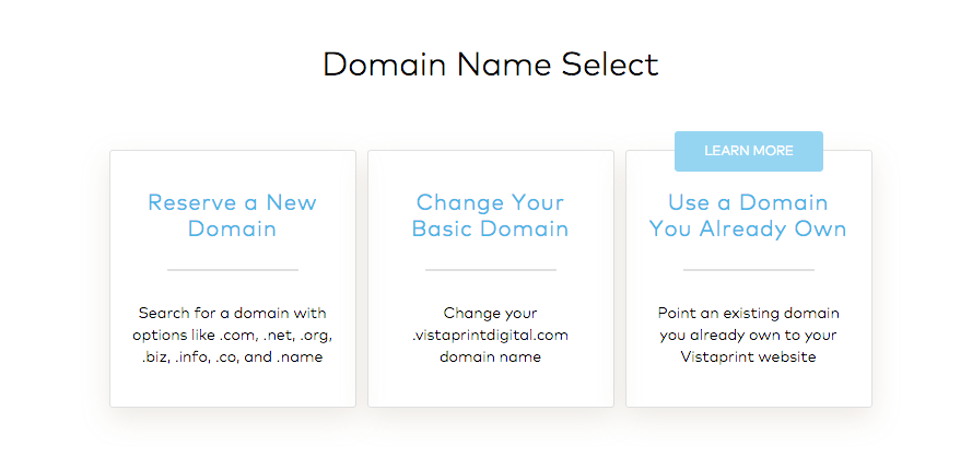 Use Existing Domain